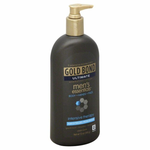 Gold Bond Ultimate Men's Essentials Intensive Therapy Lotion Perspective: front