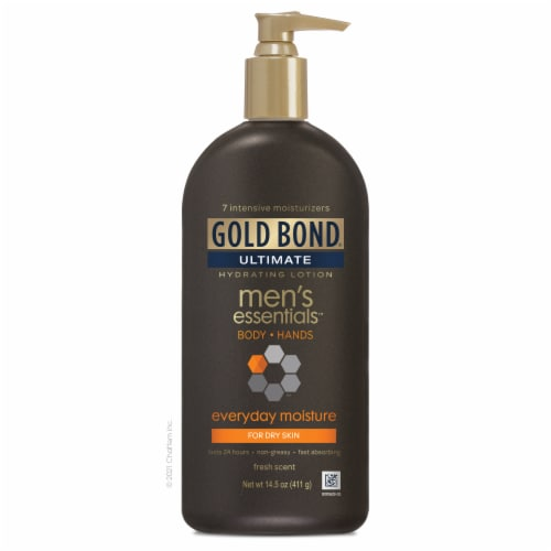 Gold Bond Ultimate Men's Essentials Lotion Perspective: front
