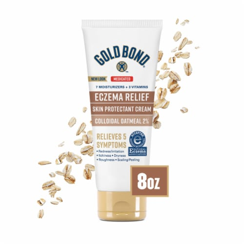 Gold Bond Ultimate Eczema Relief Skin Protectant Cream Perspective: front