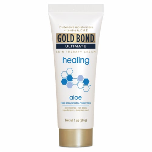 Gold Bond Ultimate Healing Aloe Skin Therapy Cream Perspective: front