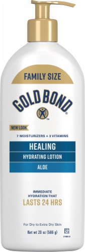 Gold Bond Ultimate Healing Aloe Skin Therapy Lotion Perspective: front