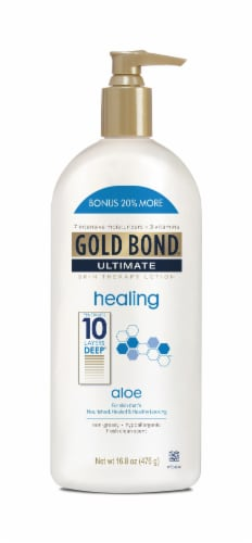 Gold Bond Ultimate Healing Skin Therapy Lotion Perspective: front