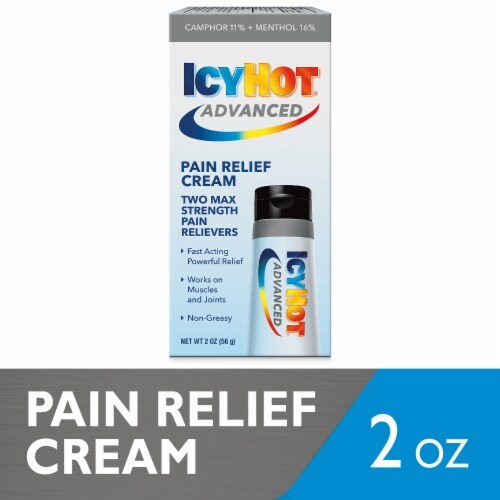 Icy Hot Advanced Relief Pain Relief Cream Perspective: front