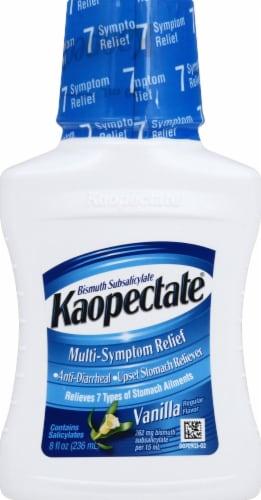 Kaopectate Vanilla Multi-Symptom Relief Liquid Perspective: front
