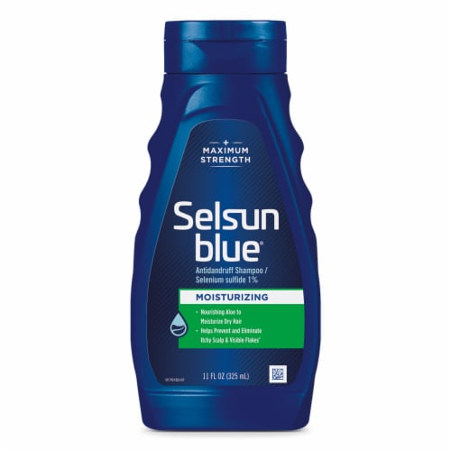 Selsun Blue Moisturizing with Aloe Dandruff Shampoo Perspective: front
