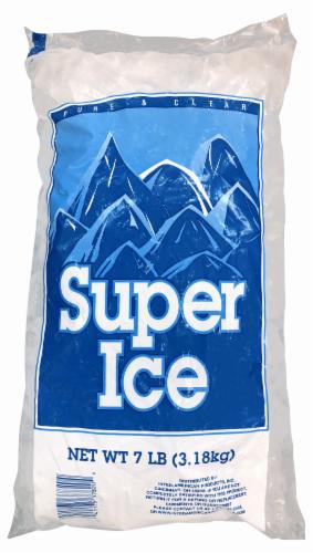 Kroger Crushed Super Ice Perspective: front