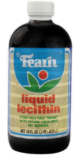 Fearn Lecithin Liquid Perspective: front