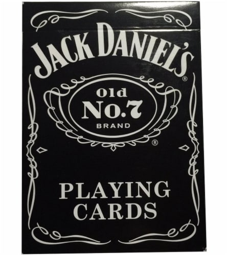 Bicycle Jack Daniel's Playing Cards Perspective: front
