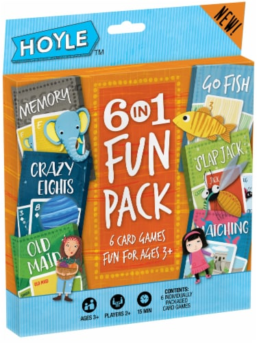 Hoyle® Kids Card Games Perspective: front