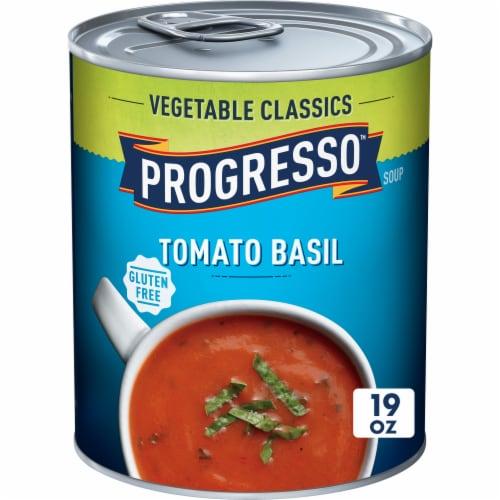 Progresso Vegetable Classics Tomato Basil Soup Perspective: front