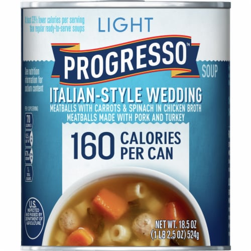 Progresso Light Italian-Style Wedding Soup Perspective: front