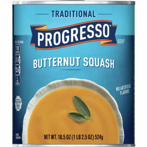 Progresso Traditional Butternut Squash Soup Perspective: front