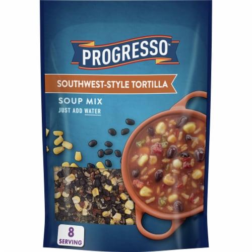 Progresso Southwest Tortilla Soup Mix Perspective: front