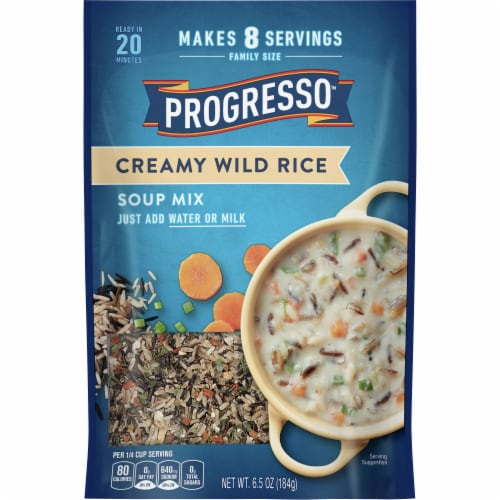 Progresso Creamy Wild Rice Soup Mix Perspective: front