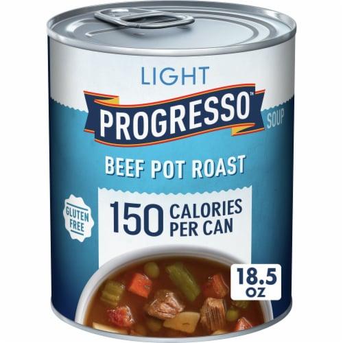 Progresso Light Beef Pot Roast Soup Perspective: front