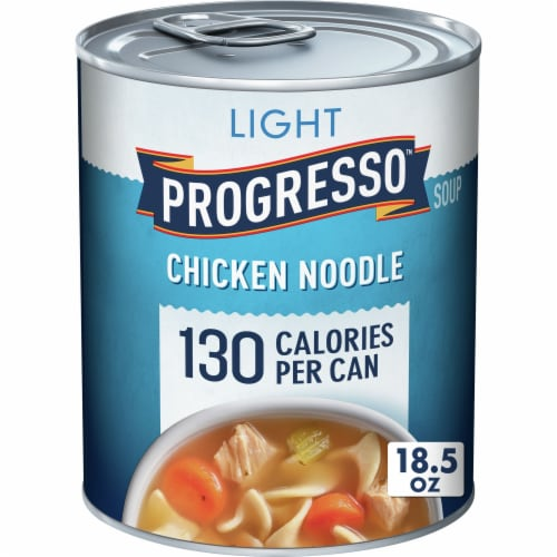 Progresso Light Chicken Noodle Soup Perspective: front
