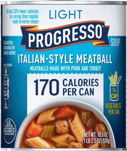 Progresso Light Italian Style Meatball Soup Perspective: front