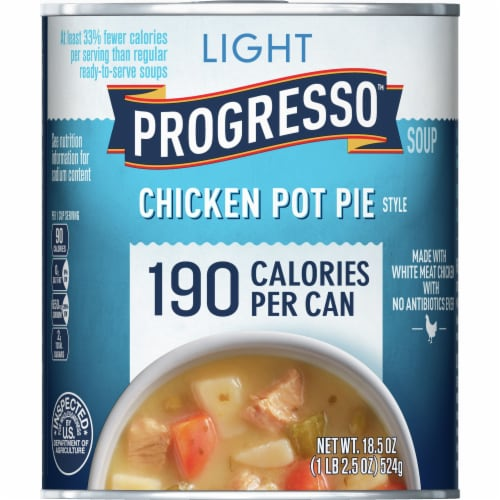 Progresso Light Chicken Pot Pie Style Soup Perspective: front