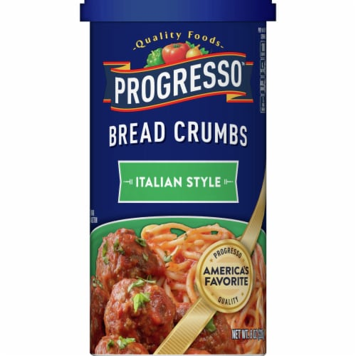 Progresso Italian Style Bread Crumbs Perspective: front