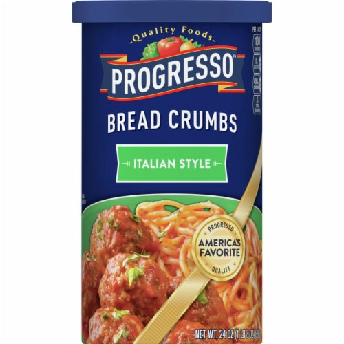 Progresso Italian Style Bread Crumbs Perspective: front