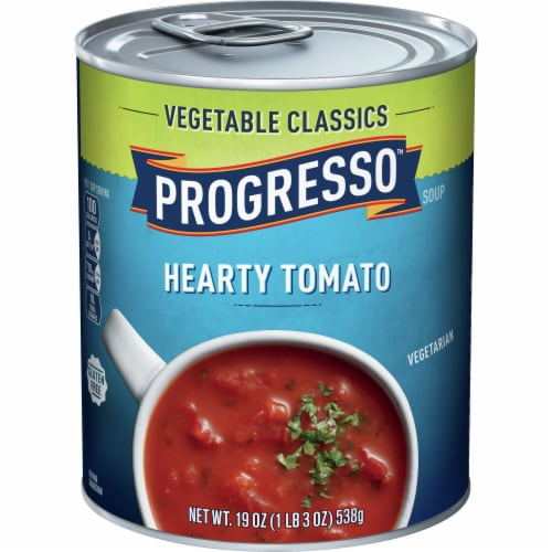 Progresso Vegetable Classics Hearty Tomato Soup Perspective: front