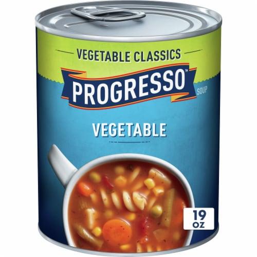 Progresso Vegetable Classics Vegetable Soup Perspective: front