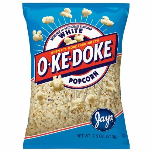 O-Ke-Doke White Popcorn Perspective: front