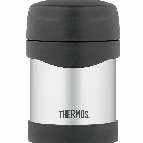 Thermos 10 Oz Stainless Steel Food Jar Perspective: front