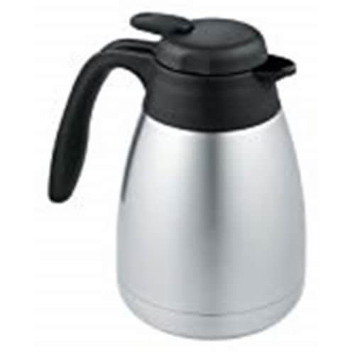 Thermos 250256 34 oz 1.2 Litre Stainless Steel Carafe Perspective: front