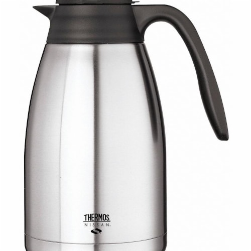 Thermos Vacuum Insulated Carafe,Lever Lid,50 oz  TGS15SC Perspective: front