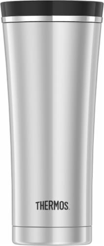 Thermos Steel Vacuumware Tumbler - Silver/Black Perspective: front