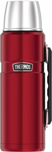 Thermos Cranberry Beverage Bottle Perspective: front