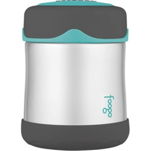 Thermos B3004TS2 Foogo Vacuum Insulated Food Jar, Stainless Steel Perspective: front