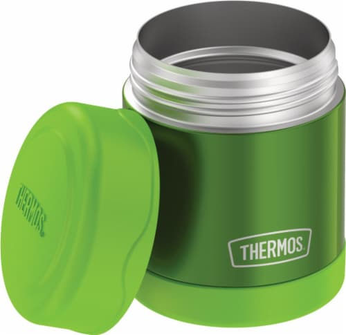 Thermos Stainless Steel Food Jar - Lime Perspective: front