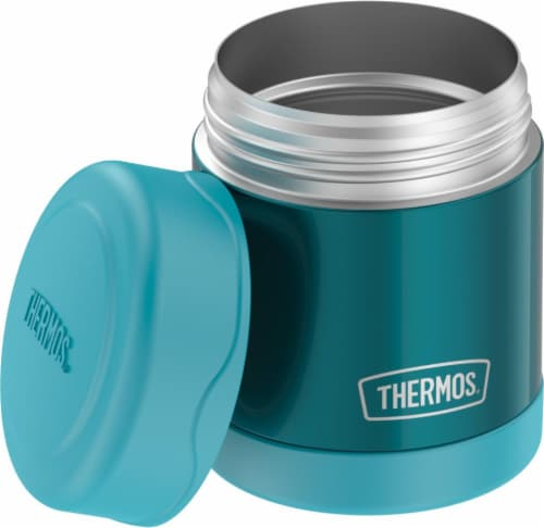 Thermos Stainless Steel Food Jar - Teal Perspective: front