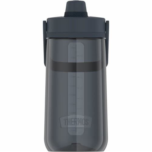Thermos Hard Plastic Hydration Water Bottle wiht Spout - Lake Blue Perspective: front