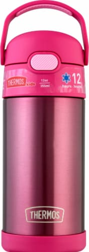 Thermos FUNtainer Stainless Steel Bottle - Pink Perspective: front