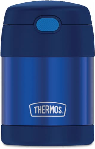 Thermos Stainless Steel Funtainer Food Jar - Navy Perspective: front