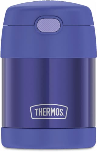 Thermos Stainless Steel FUNtainer® Food Jar - Purple Perspective: front