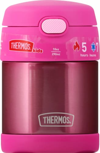 Thermos FUNtainer Stainless Steel Food Jar - Pink Perspective: front