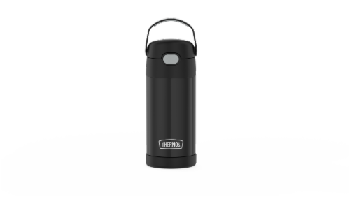 Thermos FUNtainer Stainless Steel Bottle - Black Perspective: front