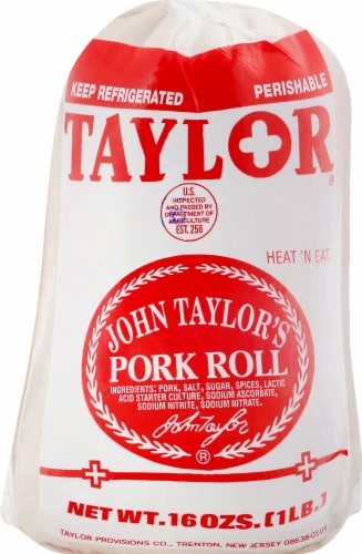 Taylor Pork Roll Perspective: front
