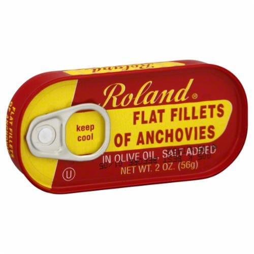 Roland Anchovies Flat Perspective: front