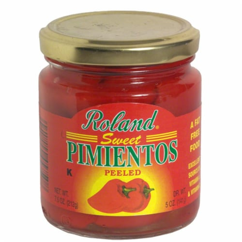 Roland Sweet Peeled Pimentos Perspective: front