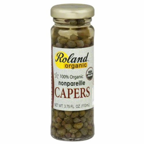 Roland Organic Nonpareille Capers Perspective: front