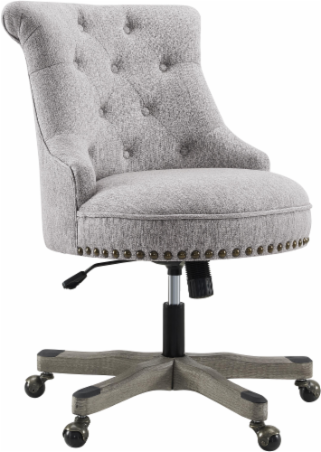 HD Designs Jackson Office Chair - Gray Perspective: front