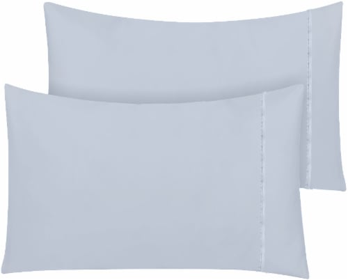 HD Designs 300 Thread Count 100% Cotton Pillowcase - 2 Pack - Arctic Ice Perspective: front