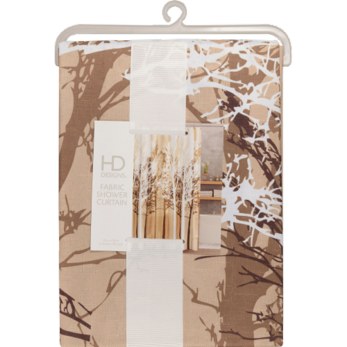 HD Designs® Forest Fabric Shower Curtain Perspective: front