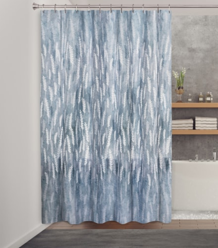 HD Designs Fabric Shower Curtain - Aiko Perspective: front