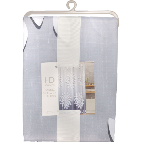 HD Designs Fabric Shower Curtain - Medina Perspective: front
